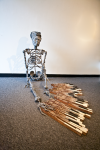 """Marionette -as installed in """"Dystopias"""" at the College of Southern Maryland"""